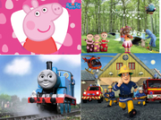 Personalised placemats and coasters - Peppa,  Thomas,  ITNG + many more